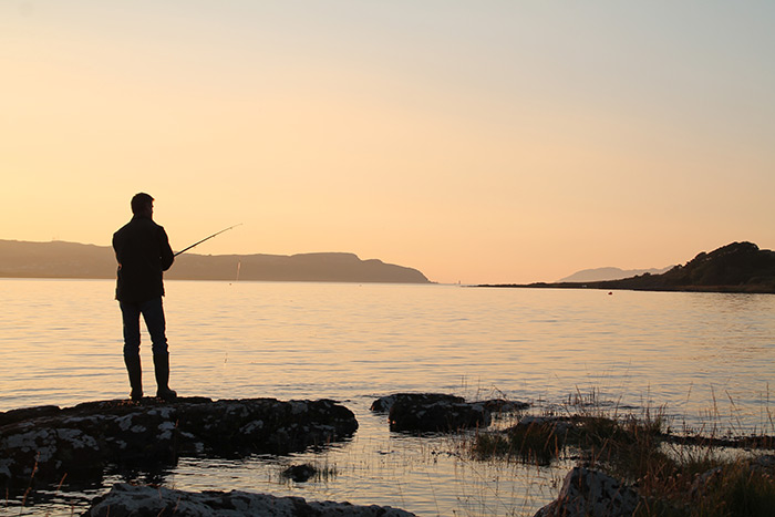 Fishing at Drimnin Estate