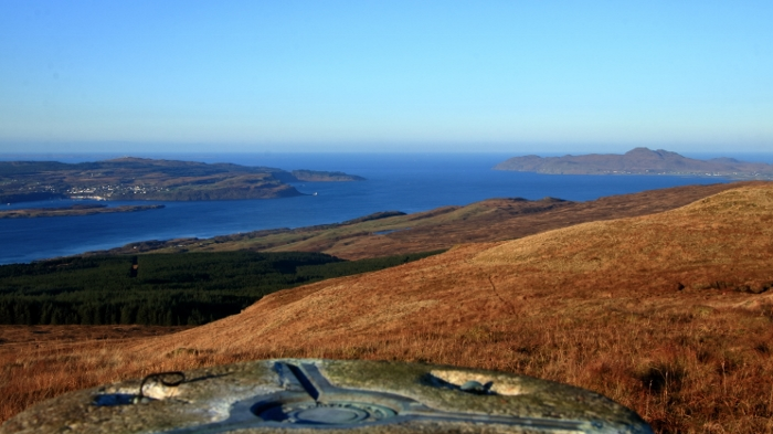 View from Ben Buidhe