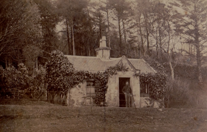 Historical photo of The Lodge 1850s