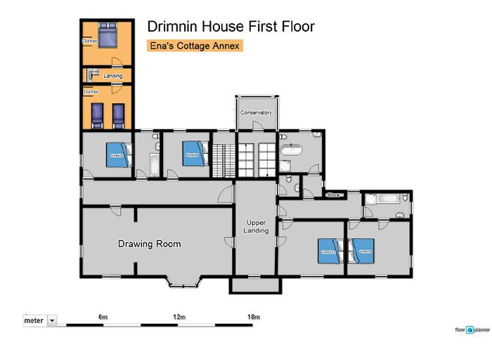 Drimnin House - First Floor
