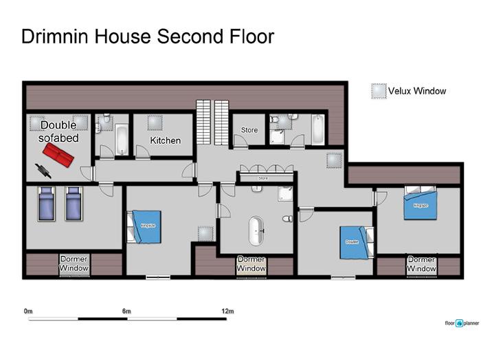 Drimnin House - Second Floor