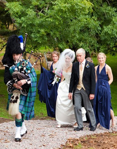 Wedding at Drimnin Estate